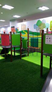 高崎オーパの子供の遊び場:アスレチック2