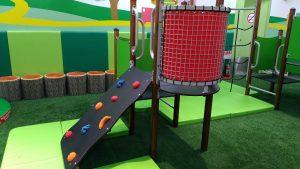 高崎オーパの子供の遊び場:アスレチック