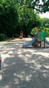 群馬の森遊具や水場7