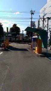 上田城周辺の駐車場4