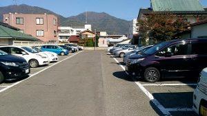 上田城周辺の駐車場3