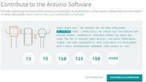 ArduinoIDEのダウンロード・インストール手順2