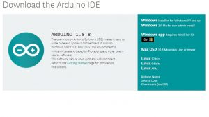 ArduinoIDEのダウンロード・インストール手順1