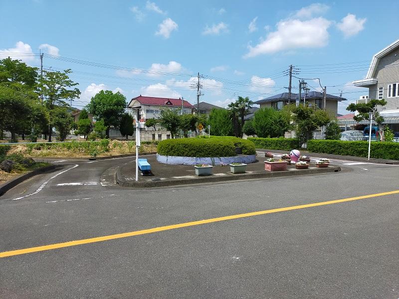 和田橋交通公園での自転車教室3