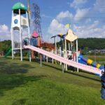 【高山村】道の駅中山盆地で子供の遊び場は?夏の水遊び(川遊び)ができる場所はある?