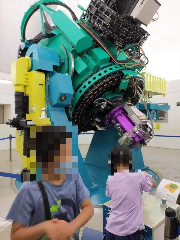 ぐんま天文台の望遠鏡見学