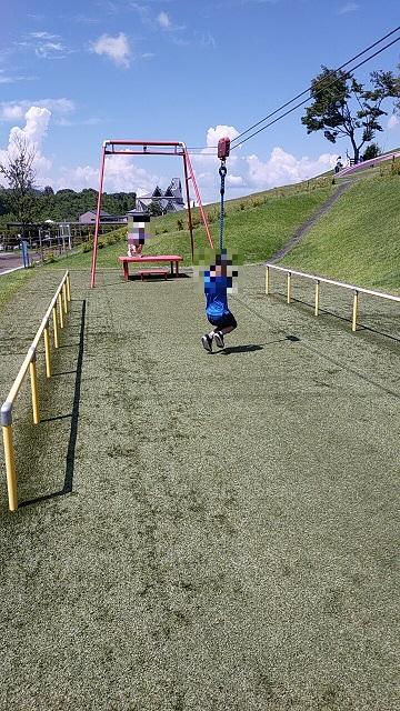 道の駅中山盆地で子供の遊び場ぷれあいパーク5