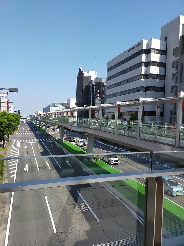 高崎駅から高崎芸術劇場までのルート2
