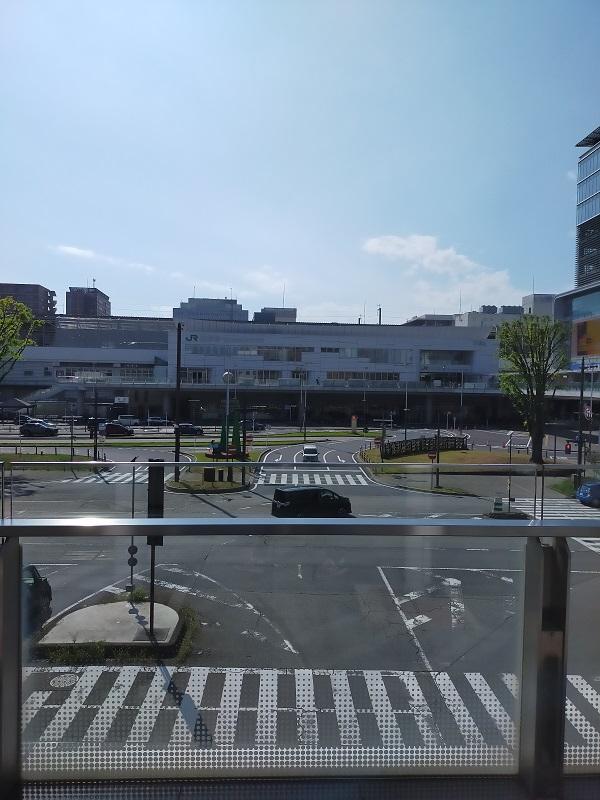 高崎駅から高崎芸術劇場までのルート1